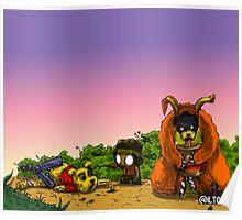 Bear Massacre Poster