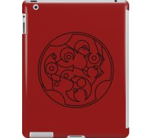 DFTBA - Gallifreyan (Black) iPad Case/Skin