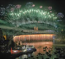 We Will Rock You ! # 2 - Sydney Harbour NYE  Fireworks by Philip Johnson