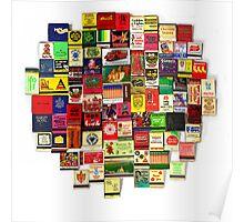 """""""82 Matchbooks"""" Poster"""
