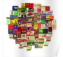 """82 Matchbooks"" Poster"