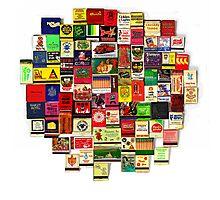 """82 Matchbooks"" Photographic Print"