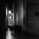 Street in Barcelona by Pawel J