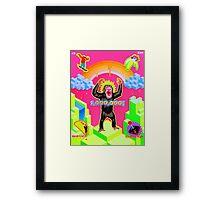 """""""Ape Escape"""" Framed Print"""