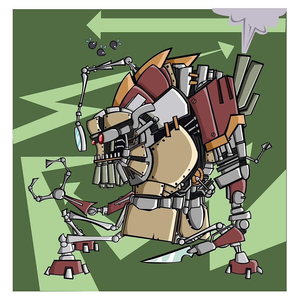 JunkBot by Ruben Rade
