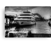 Sydney 2000 at Circular Quay Canvas Print