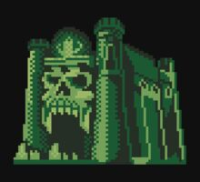 By the Pixel of Grayskull Baby Tee
