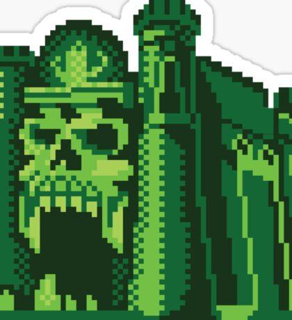 By the Pixel of Grayskull Sticker