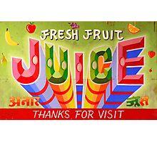 """Fresh Fruit Juice"" Photographic Print"
