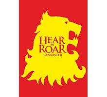 Game of Thrones - Lannister house Photographic Print
