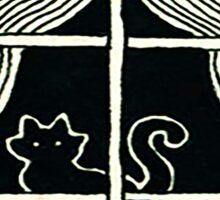 Window Cat Sticker