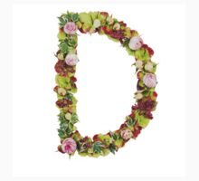Capital Letter D Part of a set of letters, Numbers and symbols Kids Tee