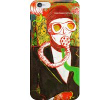 scuba man iPhone Case/Skin