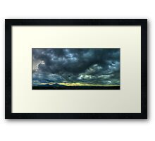 ©HCS There´s Always Clouds Framed Print