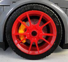 LEGO Car by MegaBloks Tire by CandyBond