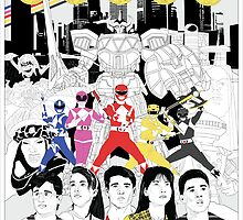 The Mightiest, Morphin'est  by gallantdesigns