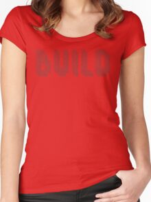 BUILD Women's Fitted Scoop T-Shirt
