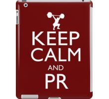 Keep Calm and PR iPad Case/Skin