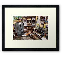 Clark Kent's Office Framed Print