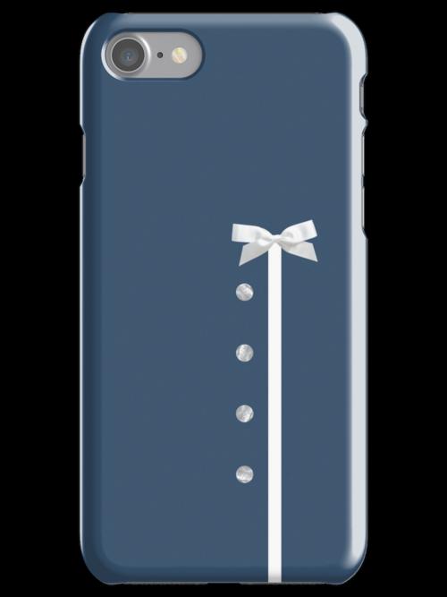 Mad Men Joan Holloway blue dress iPhone / iPad / iPod case by AAA-Ace