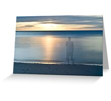 Lost in the serenity Greeting Card