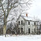 The White House in Winter by wiscbackroadz