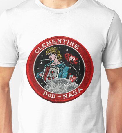 NASA DoD Clementine Mission Logo Unisex T-Shirt