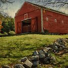 Wayside Inn Barn in Autumn by TeresaB