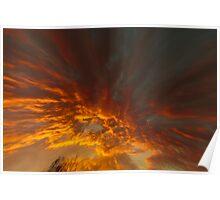 Sky distortion Poster