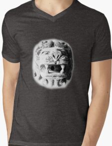 ©DA Lion Head I Mens V-Neck T-Shirt