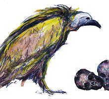 Tibeten vulture by patricia shrigley