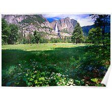 Yosemite Valley Spring Poster