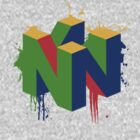 N64 Splatter by Teague Hipkiss
