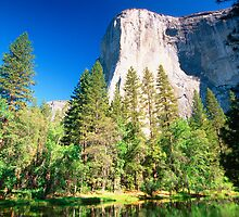 El Capitan in Morning Light by George Oze