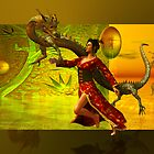 the dragon....oriental by shadowlea