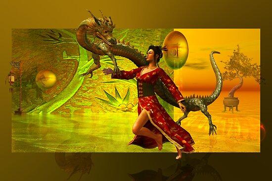 the dragon....oriental by shadowlea