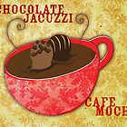 What my Coffee says to me -  Chocolate Jacuzzi by catsinthebag