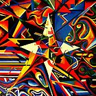intermixing Color Star  by sebmcnulty