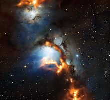 Dust in Orion (Messier 78) by vehrtical