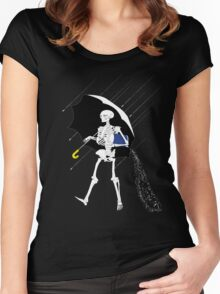 Hold the salt, please. Women's Fitted Scoop T-Shirt