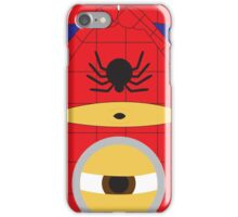 Despicable Me Minions Superheros Spiderman iPhone Case/Skin