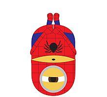 Despicable Me Minions Superheros Spiderman Photographic Print