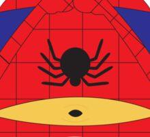 Despicable Me Minions Superheros Spiderman Sticker