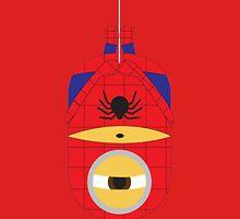 Despicable Me Minions Superheros Spiderman Unisex T-Shirt