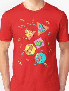 90s Pokemon Pattern T-Shirt