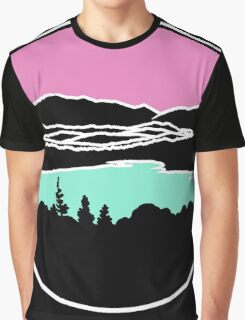 Lafayette and Franconia Notch from Shadow Lake Graphic T-Shirt