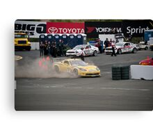 Corvette - Out of Control Canvas Print