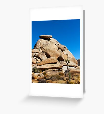 Cap Rock Greeting Card