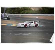 Corvette LeMans GT I Poster