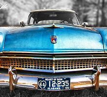 "55 Ford Customline, Grill'n - Color by Michael "" Dutch "" Dyer"